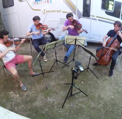 Quatuor Modigliani - Camping car Bavaria