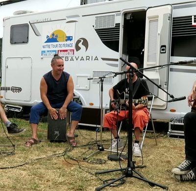 Tryo en camping-car Bavaria