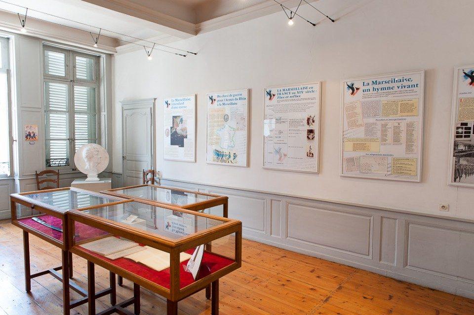 Pièce du musée sur la Marseillaise