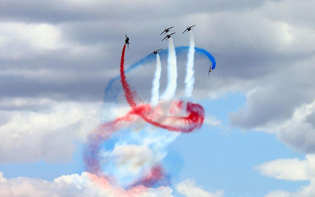Tour de France - vue aérienne