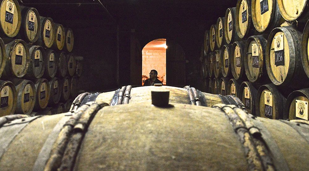 Intérieur de la Brasserie-Distillerie le Rouget de l'Isle