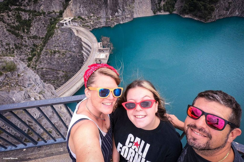 Sophie, Pauline et Nicolas (selfie)