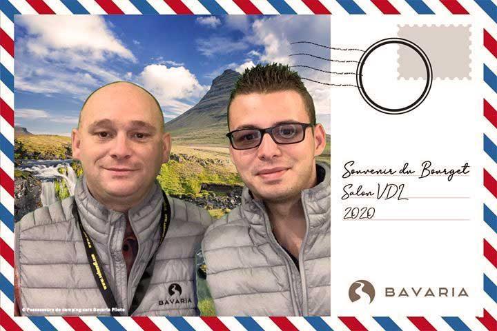 Photo des deux fondateurs du groupe Facebook (Francis et Pierre)
