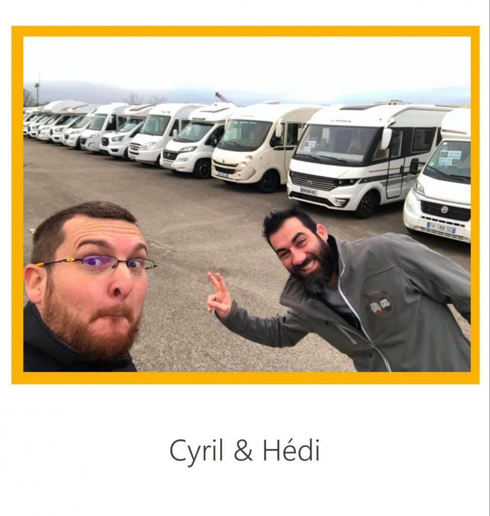 Cyril & Hedi à Camping-car 69
