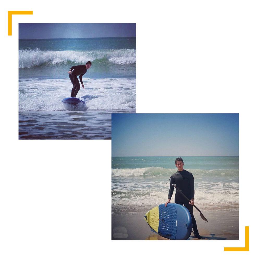 Paddle surf Karamel